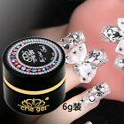 6G Che gel nail art rhinestone gel glue use for nail tips decoration jewelry new