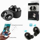 Wireless Bluetooth Earphones+Charging Station for A pple i Phone X/8 Airpods