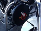 Harley Davidson Police Motorcycle Siren Cover Flying Wheel