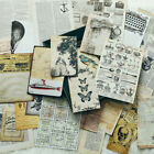 30pcs vintage newspaper background stickers for scrapbooking card making TS