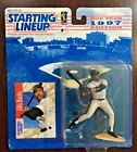 1997 Starting Lineup Ellis Burks Colorado Rockies with Card NEW 10th Year