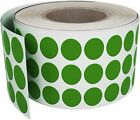 Circle Color Coded Round Dots Stickers 8mm Rolls Craft Labels 14 Inch 2000 Pack