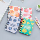 Sweet Fruits 1pc Cute Small Diary Pocket Notebook Memo Pad Mini Journal Spiral