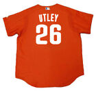 CHASE UTLEY Philadelphia Phillies 2003 Majestic Authentic Throwback Jersey