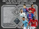 2018 Topps Champions League Museum Collection Soccer Hobby Box PRESALE 7 20 18