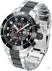 Men's IN1408BKMB Bison No. 63 Analog Display Automatic Self Wind Silver Watch
