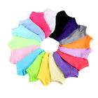 LOT 20Pairs Pack Women Low Cut Cotton Socks Fashion Boat Ankle Socks Mixed Color