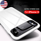 Shockproof Ultra Thin Glossy Matte Hard PC Case For iPhone X 8 7 6 Plus Samsung