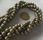 100 Cocoa Brown 6mm Swarovski Crystal Pearls Finest Faux Pearls 5810