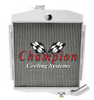 3 Row SR Champion Radiator for 1965 1971 Jeep CJ5 Base Buick V6 Engine
