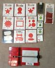 Sizzix Personal Die Cutter Machine lot multiple designs Classic Crafts Sizzlits