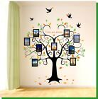 Removable Vinyl Wall Decal family tree picture Sticker Home Room DIY Home Decor