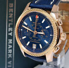 Breitling Bentley MK VI 18k Rose Gold Chronograph Box/Papers R26362