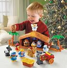 Kids Nativity Scene Playset Fisher Price Little People A Christmas Story New