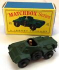 Matchbox Lesney 61 Army Scout Car In Box Mint