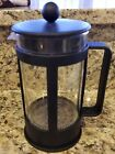 Bodum French Press Coffee Maker 4 Cups 32 oz Black Excellent Condition