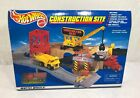 NEW SEALED Vintage 1998 Hot Wheels Construction Site 65875 Mattel Play Set