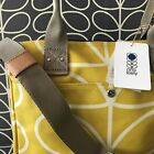 ORLA KIELY Giant Linear Stem Dangelion Yellow Messenger Bag NEW with Tags