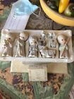 1979 Precious Moments 9 Piece VINTAGE NATIVITY SET WITH BONUS DONKEY
