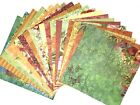 12X12 Scrapbook Paper Lot 20 Sheets Beautiful Floral Prints Card Making L145