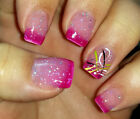 Big T Ranch Color Changing Thermal Nail Polish Magenta to Clear Cherry Blossom