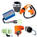 Motorcycle Ignition Coil + CDI Box + Air Filter Kit for GY6 50cc 150cc Scooter
