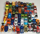 Matchbox Large lot of 60 cars trucks construction boats helicopters police