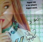 MILEY CYRUS HANNAH MONTANA Autographed Disney POSTER Early Signature