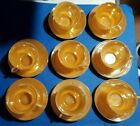 16 pcs Vintage Anchor Hocking Fire King Ribbed Peach Lustre Cups