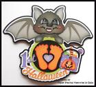 Babys 1st Halloween Premade Paper Piecing Die Cut for Scrapbook Page by Babs