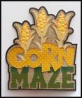 Corn Maze Title Premade Paper Piecing Embellishment Die Cut by Babs