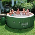 Portable Hot Tub Inflatable Accessories Coleman Lay-Z Spa 4 - 6 Person With Pump