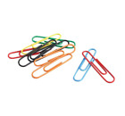 Vinyl Coated Large Paper Clips 40 Pack Office Supplies Desk Accessories