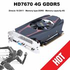 PCI Express Video Graphics Card For AMD ATI Radeon HD7670 4GB DDR5 128Bit HDMI