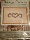 Heritage Collection by Elsa Williams Floral Brocade Counted Cross Stitch Kit USA