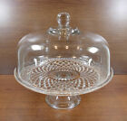 Very Nice Anchor Hocking Wexford Cake Stand and Dome