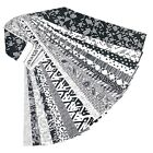 Jelly Roll 20 Fabric Strips Classic Black White No Duplicates 25 x 43 Inches