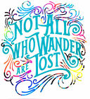 Not All Who Wander Are Lost Vinyl Decal Sticker Camping RV WindowYeti 6