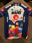 Latexco Mapei Cycling Jersey in Size Medium Very Cool EUC M1
