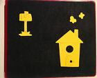 Sizzix Large Red Original Die Cutter HOME SWEET HOME 1 House Tree Smoke