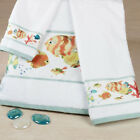 NEW -  Creative Bath™ Rainbow Fish Bath Towel Set - 3pc Towel Collection