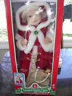 VINTAGE MRS SANTA CLAUS Telco Animated Motionettes of Christmas