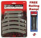 Z Scale Track Set Rokuhan R028 Oval Set Ships Now From USA FREE Railing Ramp
