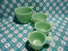 Jadeite Green Glass 4 Piece Measuring Cups in Excellent Condition