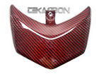 2008 - 2012 Ducati Hypermotard 796 1100 (s) Carbon Fiber Tail Light Cover - Red