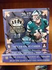 Lot of (2) TWO 2017 CROWN ROYALE FOOTBALL Box Boxes HOT! 2 AUTOs