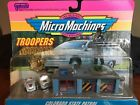 Vintage 1992 Micro Machines TROOPERS Collection 5 NIP COLORADO STATE PATROL