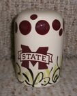 Mississippi State Bulldogs Hand Painted Cabells Too Large Salt Shaker