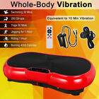 500W Vibration Fitness Platform Machine Massage Plate Slim Body Shaper Exercise