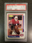 1986 PATRICK ROY OPC O-PEE-CHEE #53 PSA 8 MONTREAL CANADIENS EX ROOKIE RC CARD.